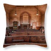 Bodie Church Throw Pillow