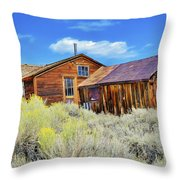 Bodie House And Sage Throw Pillow