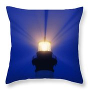 Bodie Island Light - Fs000226 Throw Pillow