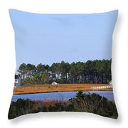 Bodie Island Lighthouse 2765 Throw Pillow