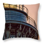 Bodie Island Lighthouse Close-up Throw Pillow