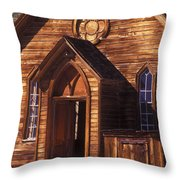 Bodie Methodist Church Throw Pillow