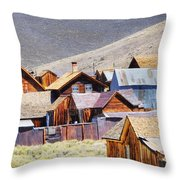 Bodie Rooftops Throw Pillow