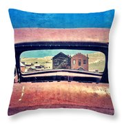 Bodie Through Car Window Throw Pillow