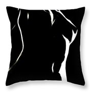 Body And Light Throw Pillow