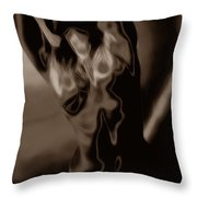 Body Expression Throw Pillow
