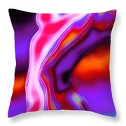 Bodytalk Throw Pillow