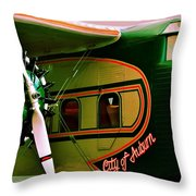 Boeing 80 Throw Pillow