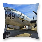 Boeing B-29a Superfortress Throw Pillow