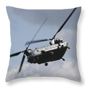 Boeing Chinook Throw Pillow
