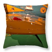 Boeing P26 Peashooter Wing Throw Pillow
