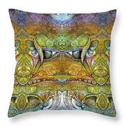 Bogomil Variation 12 Throw Pillow by Otto Rapp