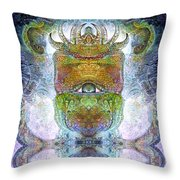 Bogomil Variation 15 Throw Pillow by Otto Rapp