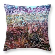 Bogomils Vegetable Garden  Throw Pillow by Otto Rapp