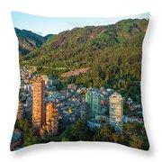 Bogota Colombia Throw Pillow