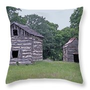 Bohls Cabins At Bee Cave I I I Throw Pillow
