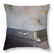 Boil Throw Pillow