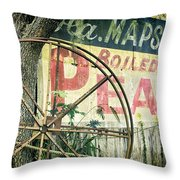 Boiled Peanuts Throw Pillow by Joan Carroll