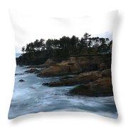 Boiler Bay Throw Pillow