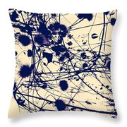 Boiling Broth  Throw Pillow