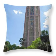 Bok Tower Throw Pillow