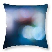 Bokeh Lights Throw Pillow