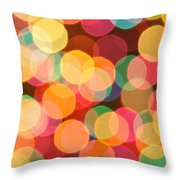 Bokehful Throw Pillow