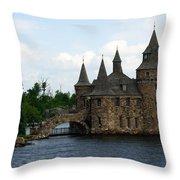 Boldt Castle Powerhouse Throw Pillow
