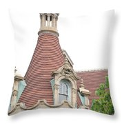 Boldt Castle Tower Throw Pillow