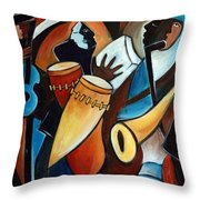 Bolero In Acrylic Throw Pillow