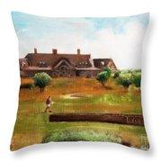 Bolingbrook Golf Club Throw Pillow