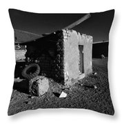 Bolivia By Moonlight Throw Pillow