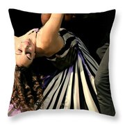 Bollywood Passion Throw Pillow