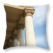 Bolshoi Theatre In Moscow Throw Pillow