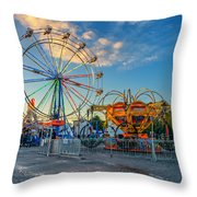 Bolton Fall Fair 4 Throw Pillow