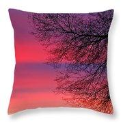 Bolton Sunset Throw Pillow