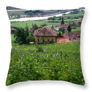 Bolzano Vineyard  Throw Pillow