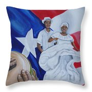 Bomba Throw Pillow