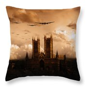 Bomber Country  Throw Pillow