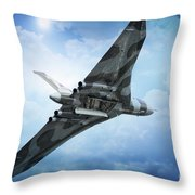 Bombs Gone Throw Pillow