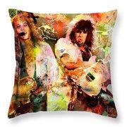Bon Jovi Original  Throw Pillow