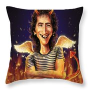 Bon Scott Throw Pillow