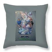 Bonafish Final Throw Pillow