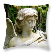 Bonaventure Angels Series - Clipped Wing Throw Pillow