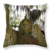 Bonaventure Angels Series - Glory Throw Pillow