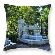 Bonaventure Cemetery 2 Throw Pillow