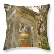 Bonaventure Statue Throw Pillow