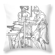 Bone Fracture Repair Throw Pillow