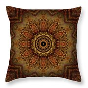 Boneflower 2 Throw Pillow