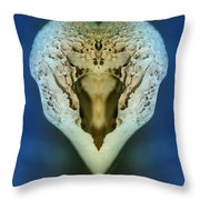 Boneheart Throw Pillow